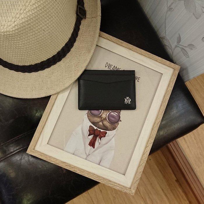 dunhill經典小牛皮名片夾  卡片夾