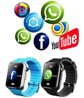 itwo v8真防水 Google版 3G支持視像 GPS手錶 兒童定位手錶 可換電池 待機長 支持whatsapp facebook 微信 送$68芭蕉扇