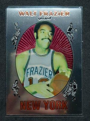Walt Frazier 1996-97 Topps Reprint 金屬 50大球星經典複刻RC