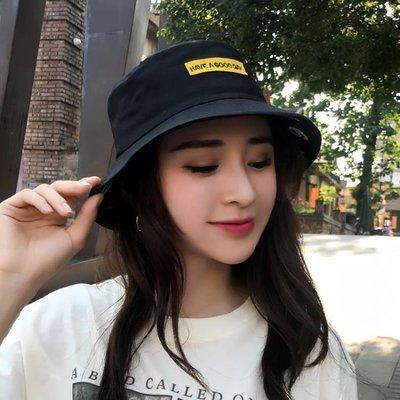 漁夫帽子女夏學生可愛韓版休閒防曬遮陽帽...