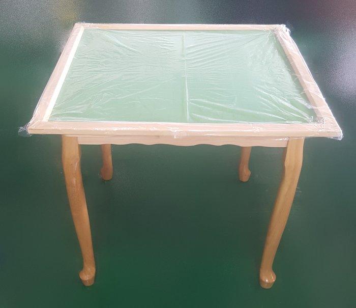 【宏品二手家具】 中古賣場 EA60203全新木色麻將桌 餐椅 洽談椅 2手桌椅拍賣辦公椅 電腦椅 書桌椅99