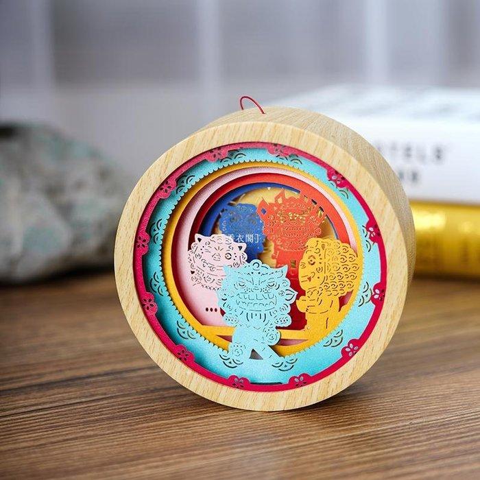 [秀衣閣] 手工燈籠制作DIY材料包兒童寶寶幼兒園親子作業自制手提紙雕創意裝飾