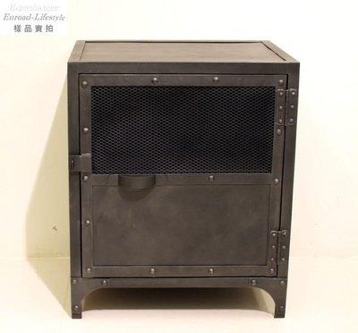 【台大復刻家具】 Industrial Style Metal Locker End Table 工業風格 做舊 鐵櫃【Vintage】Tool Chest