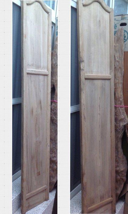 【黑狗兄】原木門,隔板,隔扇,屏風一件---B-01