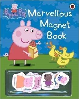 粉紅豬小妹-趣味磁鐵書 MARVELLOUS MAGNET BOOK