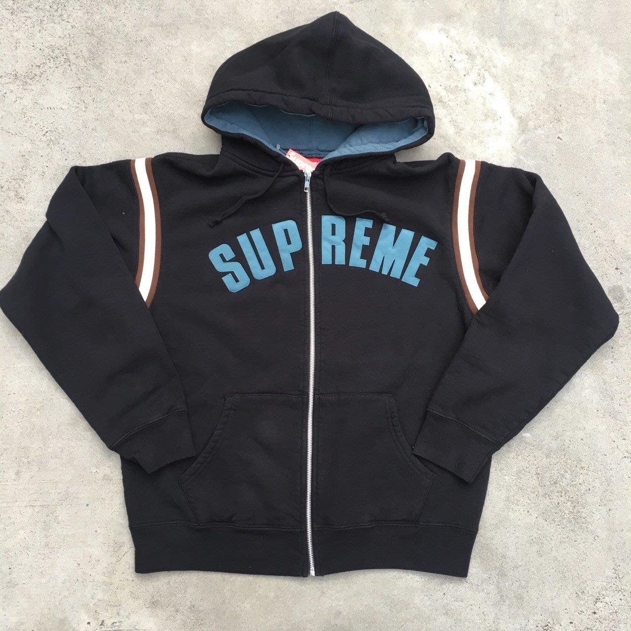 ☆LimeLight☆ Supreme Jet Sleeve Zip Up Hooded Sewatshirt 外套 黑