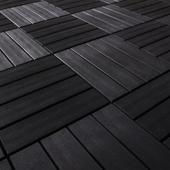 【小如的店】COSTCO好市多線上代購~Shantex 深灰木紋地板-7片裝