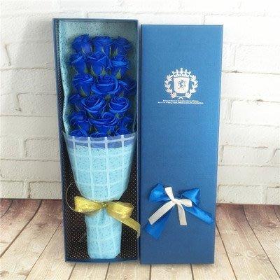 可代寫賀卡可代寄送 18朵仿真玫瑰香皂花束禮盒,送女友情人節,送閨蜜七夕節,生日禮物,母親節禮品,聖誕節的創意禮盒