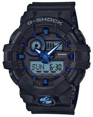 日本正版 CASIO 卡西歐 G-Shock GA-710B-1A2JF 男錶 手錶 日本代購