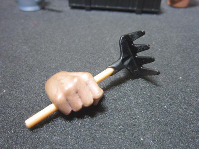RU8休閒部門 1/6園丁用小耙子一個(場景品mini模型)