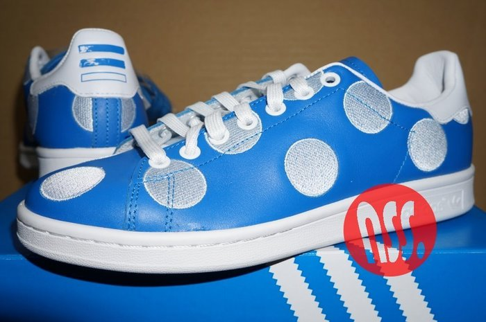 特價「NSS』adidas PW stan smith BPD PHARRELL WILLIAMS 菲董 女生 23.5