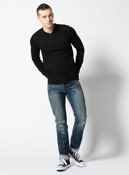 ☆AirRoom☆【現貨 】日版 LEVIS 511 丹寧 牛仔褲 破壞 窄版 窄款  04511-2085