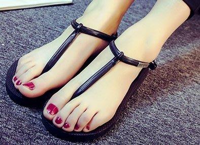 防水夾腳涼鞋