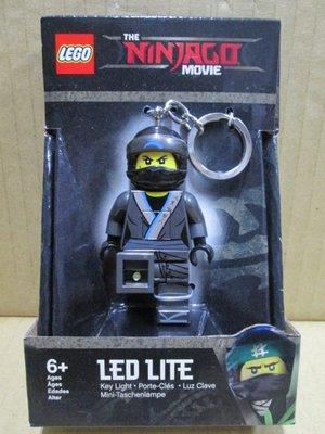 (STH)2017年 LEGO 樂高 旋風忍者電影 Ninjago LED 人偶鑰匙圈 尼雅忍者-灰色 盒裝組