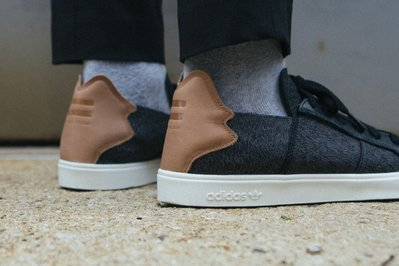 adidas Pharrell Williams AQ5781 菲董 slip on 黑色 US 7.5、8  現貨