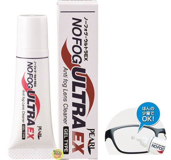 【JPGO日本購】日本製 NOFOG ULTRA EX 超強眼鏡防霧凝膠 濃縮眼鏡防霧劑 8g #538