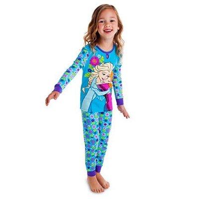 【豆芽Tsai美國商品】美國 Disney Frozen 正品 冰雪奇緣 睡衣 + 睡褲    [ 580元含運費 ]