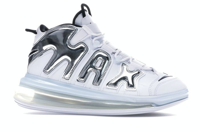 【紐約范特西】預購 Nike Air More Uptempo 720 White Metallic 流光銀 大AIR