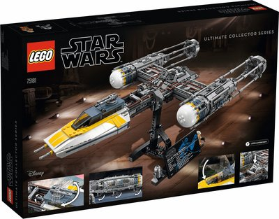 新風小鋪-LEGO樂高75181Y-翼星際戰機UCS星球大戰系列收藏大型太空戰斗機