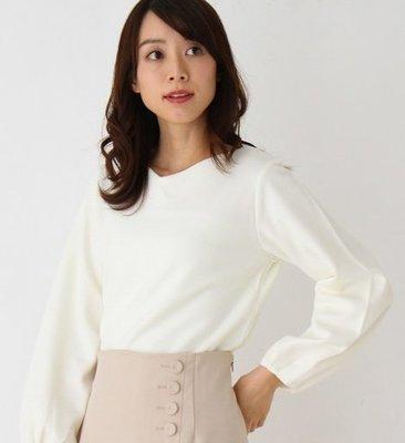 【WildLady】 特 日本秋冬氣質簡約皺褶袖上衣OPAQUE.CLIP