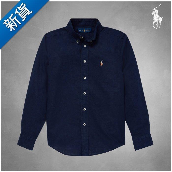 新貨【FH.cc】Polo Ralph Lauren 竹節亞麻棉彩馬襯衫 Slub Linen-Cotton Shirt