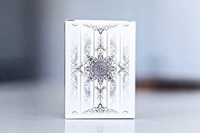【USPCC撲克】撲克牌white Artifice 白色紀念牌 Tundra Edition