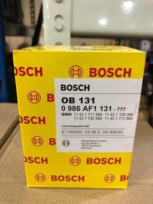 『油工廠』BOSCH 博士 OB131 機油濾芯 BMW M50/M52 E34/E36 機油芯 926/3x