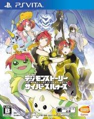 二手商品 PSV遊戲數碼寶貝物語 網路偵探Digimon Story: Cyber Sleuth 日文日版 【板橋魔力】
