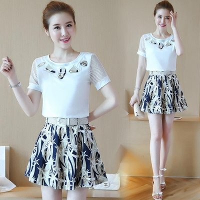A字洋裝時尚夏季新款韓版女裝氣質連衣裙 JD3861 【創意家居】