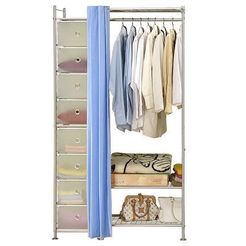 【中華批發網DIY家具】D-61-02-W3+PP型60公分衣櫥櫃-(前罩)不織布