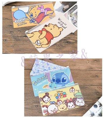 &蘋果之家&現貨-迪士尼系列-萬用口罩夾鏈收納袋-雙面都有卡哇依的圖案喔!^^