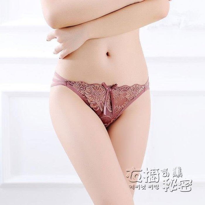 YEAHSHOP 輕熟丁字褲女一片式內褲蕾絲鏤空低腰無痕情Y185