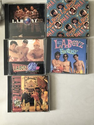 喵 LA boys CD 專輯 閃 跳 耶 黃立成 黃立行