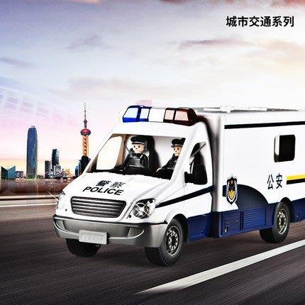 【傳說企業社】E672雙鷹1:18遙控車 警務車 警車 警察車 內附警察人偶