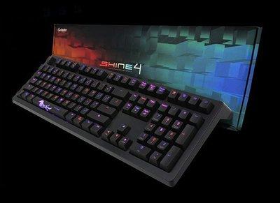 (特價) Ducky Shine 4 機械鍵盤 多種燈光效果 德國 Cherry MX 青軸 中文 Shine 5 參考