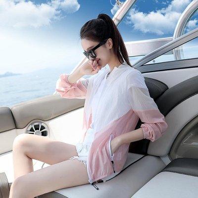 防曬衣 夏季新款短款防曬衣女學生服韓版薄款寬鬆長袖防曬衫外套潮bf   全館免運