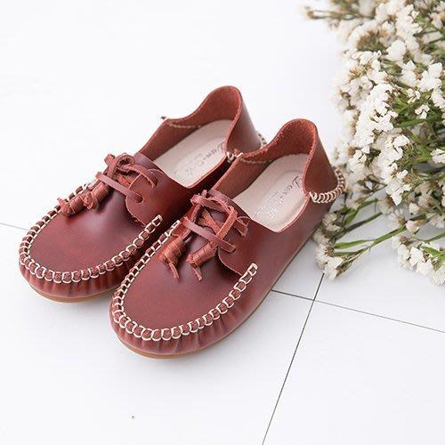 豆豆鞋 完美兩穿式頂級油蠟皮帆船鞋 台灣手工鞋 丹妮鞋屋