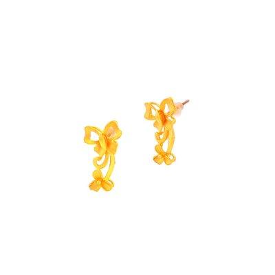 【JHT 金宏總珠寶/GIA鑽石】1.31錢蝶意鶯情耳環【價格依當日金價計算 (請來電洽詢)】