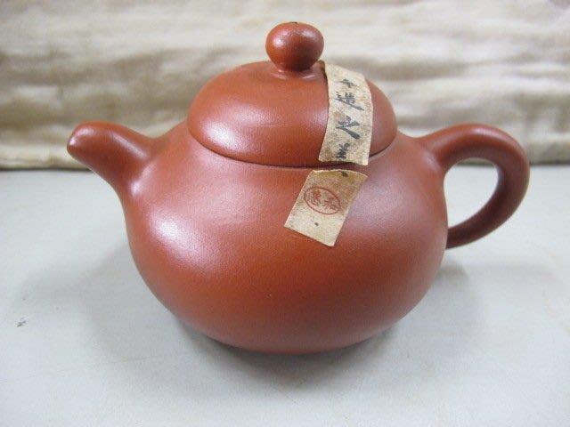二手舖 NO.752 茶壺 惠和茶器 茗壺手工  紫砂壺 土胎好 手工細膩 值得收藏 便宜賣