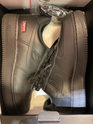 Supreme Nike Air Force 1 Low Collaboration 現貨 黑色 9.5