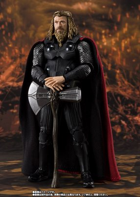 全新 行版 魂限 啡盒 Bandai SHF Marvel Avengers Thor 雷神 肥雷神 Infinity War Endgame