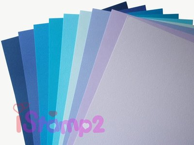 *哈玩藝手作* 襯紙 A4美術紙150磅 # IS163 - 9色海洋色系 (每包18張) 超值價 $155