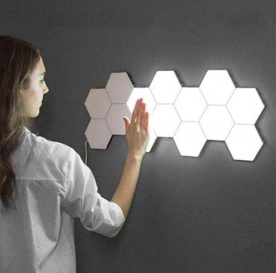 LED觸控量子燈【NT078】 LED燈 觸碰感應燈 觸碰燈 蜂巢燈 裝飾燈 觸摸燈 照明 居家裝飾 壁燈
