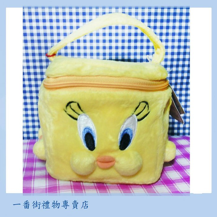 一番街*日本帶回*崔弟四面都有不同表情方型化妝包~非常值得收藏