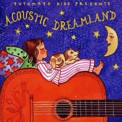 音樂居士*Putumayo Kids Presents Acoustic Dreamland  孩子們的夢鄉*CD專輯