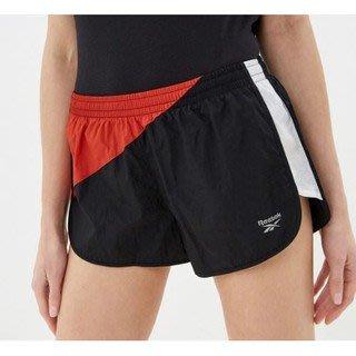 FOCA REEBOK HERITAGE RUN 3 INCH 女款 短褲 休閒短褲 慢跑 運動 黑紅色 FL0109