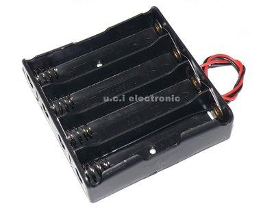 【UCI電子】(17-4) 18650電池盒4節電池盒 並聯 充電座 18650電池盒帶線