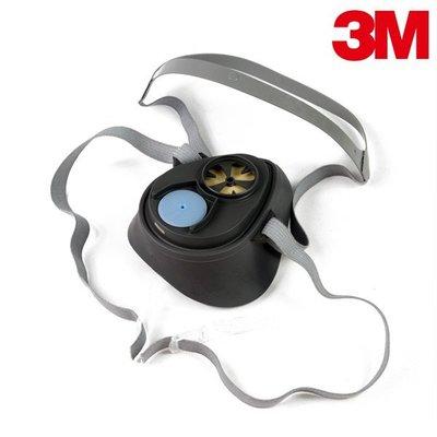 【醫碩科技】3M 3200半面罩簡易單罐防毒面具 半面罩式/單罐式/防毒面具口罩 可搭有機濾罐/濾棉 1個