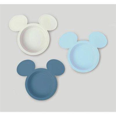 ˙TOMATO生活雜鋪˙日本進口雜貨日本製人氣迪士尼療癒系米奇臉造型漸層色系沾醬碟3件組(現貨+預購)