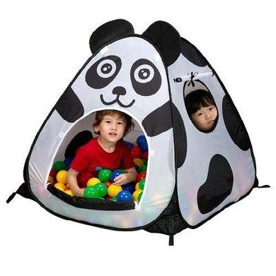 外銷限定版~可愛熊貓三角球屋~不含球賣場◎童心玩具1館◎